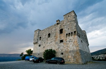 Castle in Senj, Croatia