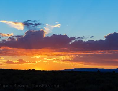 Taos Sunset #4