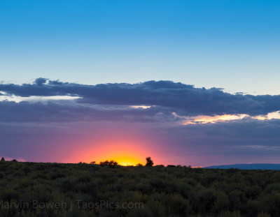 Taos Sunset #5