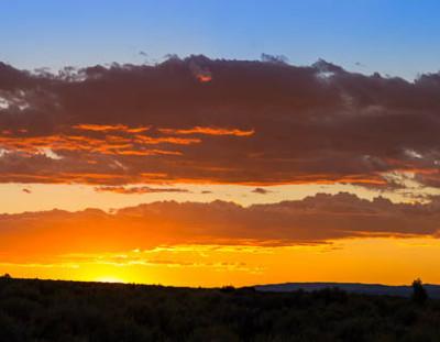 Taos Sunset Panorama #2