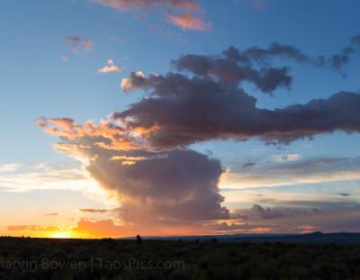 Taos Sunset #10